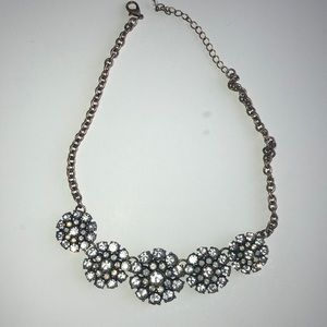 Circular Necklace with gems